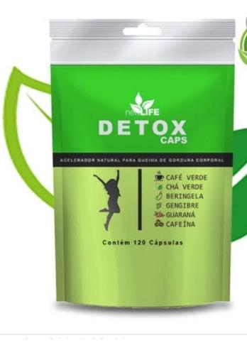 Detox De Emagrecimento 100% Natural Em Caps