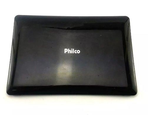 Carcaça Completa + Bateria Do Netbook Philco Phn 10a2