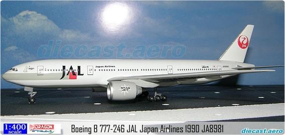 Maquete/miniatura Avião Boeing 777 Jal1:400