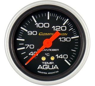 2 Relojes Orlan Rober Competicion Glicerina 60mm Aceite Temperatura Agua