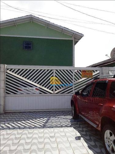 Casa Com 2 Dormitórios À Venda Por R$ 230.000,00 - Tude Bastos (sítio Do Campo) - Praia Grande/sp - Ca5173