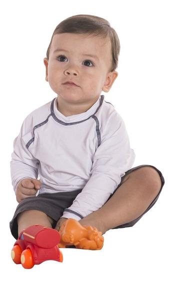 Camiseta Lupo Kids Infantil Com Proteção Uv 50+ Unissex