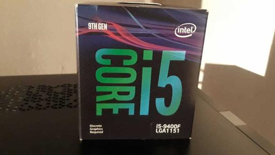 Processador Intel Core I5 9400f + Cooler Na Caixa Zerado