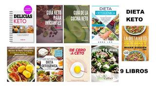 Guía De La Cocina Keto + 9 Libros Cetogenica.dig