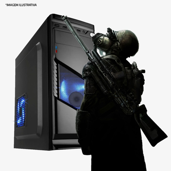 Pc Gamer I7 4ª,8gb Ram Ddr3,hd 1tb,gtx 1050 Ti 4gb Promoção!