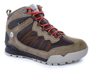 Zapatillas Bota Hi Tec Sequoia I Hombre Trekking Impermeable