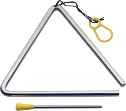 Triángulo Metálico Banda Ritmica 12mm 20.5cm Stagg St-tri8