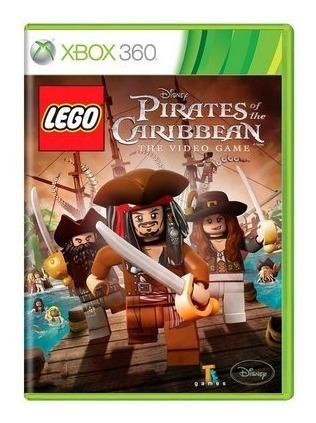 Jogo Lego Piratas Do Caribe Xbox 360 Mídia Física