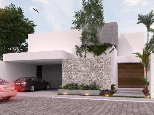 Casa En Venta, Privada En Temozón, Zona Cabo Norte. Cv-4730