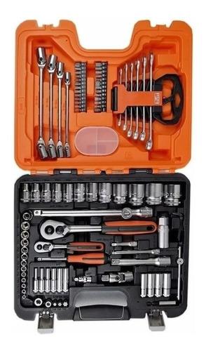 Kit Caja Juego Set Herramientas Llave Tubos 91 Un S910 Bahco