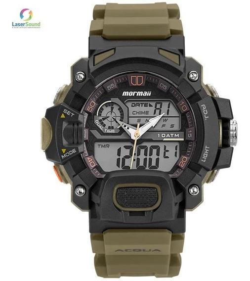 Relógio Mormaii Masculino Moad1132/8v, C/ Garantia E Nf