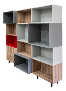 Moderno Librero, Juguetero, Bufetera, Vitrina, Exhibidor