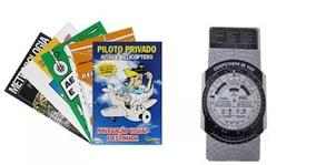 Kit Com Todos Os Livros Para O Curso De Piloto Privado