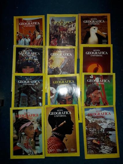 Lote 12 Revista Geografica Nacional Anos 70(capa Amarela)