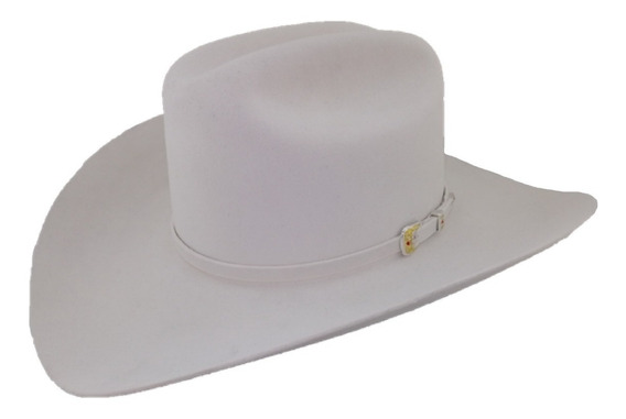 Sombrero Texana De 100 X Marca West Point Blanco Pelo Castor