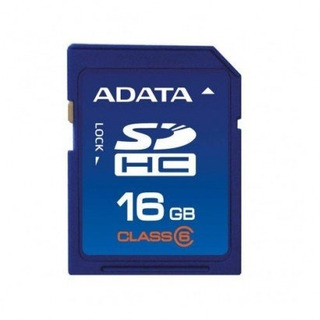 Cartão De Memória Adata Sdhc 16gb Class 6