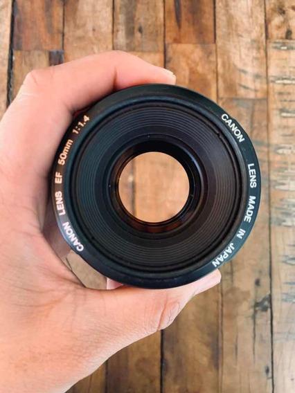 Lente Canon 50mm F/1.4