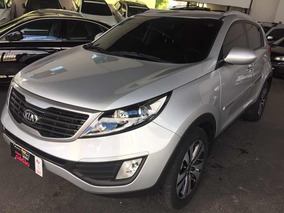 Kia Sportage 2.0 Lx 4x2 Flex Aut 2014 Prata Revisada
