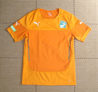Camisa Original Costa Do Marfim 2015/2016 Home Torcedor