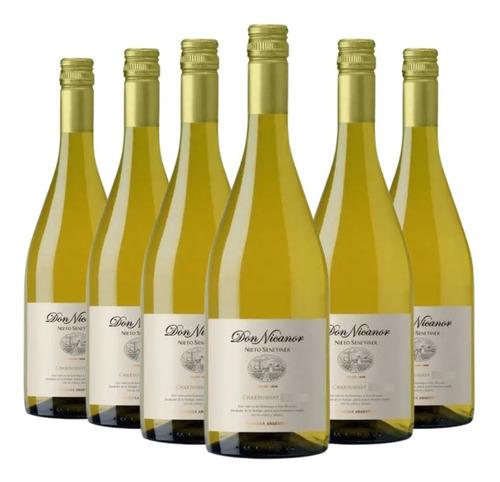 Imagen 1 de 10 de Vino Don Nicanor Chardonnay Caja X 6 X 750ml.