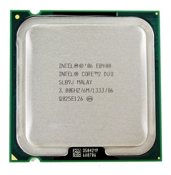 Processador Intel Core 2 Duo 775 E8400 3.0ghz Cache 6mb 1333