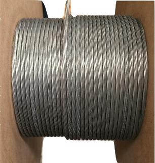 Cable De Acero Para Invernaderos 1/8 ( 353 Mtrs.)