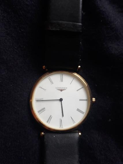 Relógio Longines Classic Em Ouro 18 K