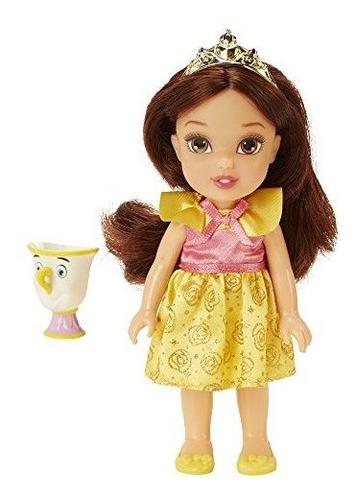 Imagen 1 de 1 de Disney Princess Petite Belle Doll Con Chip Figure 6 Pulgadas