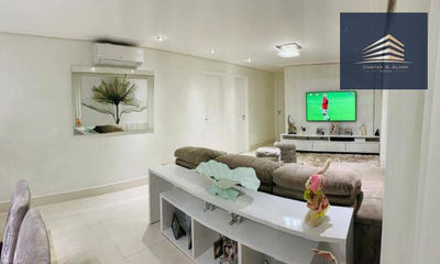 Apartamento No Condomínio Alegria, 114m², 3 Dormitórios, 1 Suíte, 2 Vagas, Estuda Permuta. - Ap0738