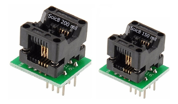 Adaptador Eprom Smd- Soic8 150mil Soic8 200mil