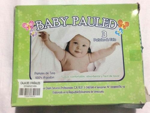 Pañales De Tela Baby Pauled 3x