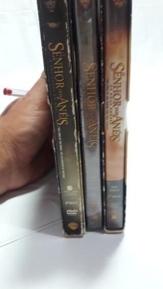 Dvds Triologia Senhor Dos Anéis Original.