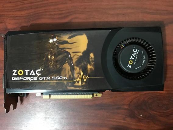 Placa De Video Gtx 560 Zotac 1gb 256bits