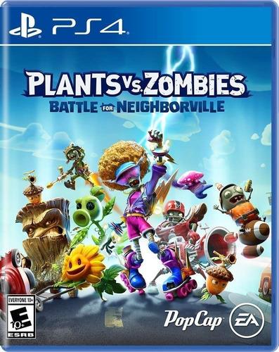 Plants Vs Zombies Battle For Neighborville Ps4 Fisico