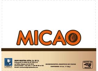 Manteca De Cacao Micao Muestra