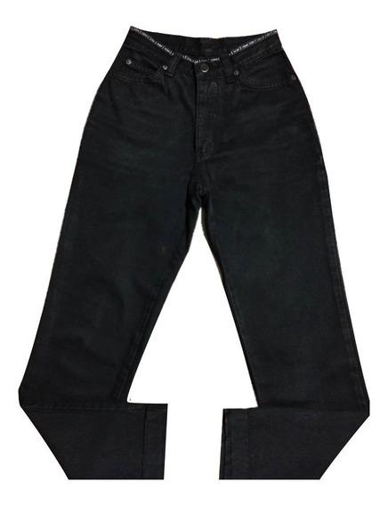 Calça Jeans Zoomp Feminina 38 Preta Promoção Única Original
