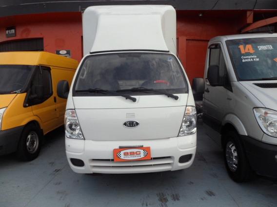Kia Bongo 2012 Com Bau De Aluminio Defletor C/ Ind Serviço