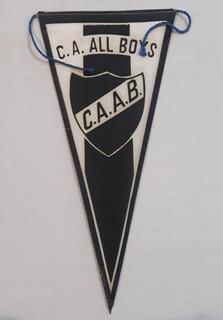 Club Atletico All Boys - Antiguo Banderin Chico Años 70 Fs