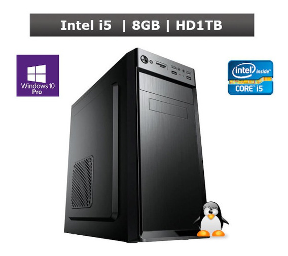 Pc Desktop Windows 10 Pro Intel I5 8gb Hd 1tb + Nf