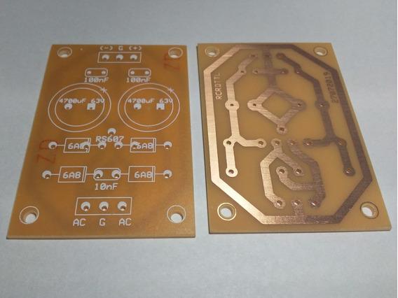 Plaqueta Circuito Impreso Fuente Simétrica 6a