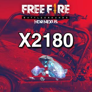 2180 Diamantes Free Fire