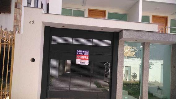 Casa Geminada Com 4 Quartos Para Comprar No Santa Branca Em Belo Horizonte/mg - 47532