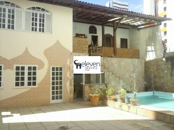 Casa Comercial Para Venda Pituba, Salvador 5 Dormitórios, 2 Salas, 10 Vagas, 400 M² Construída. - Ca00075 - 32097458