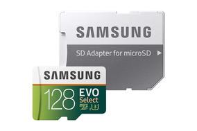 Cartao Micro Sd Samsung Evo 128gb Classe 10 U3 Original