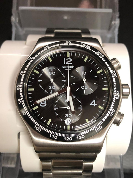 Reloj Swatch Cronos Acero (semi Nuevo)