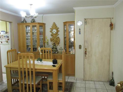 Imagem 1 de 4 de Apartamento Com 2 Dormitórios À Venda, 58 M² - Tatuapé - São Paulo/sp - Ap3081
