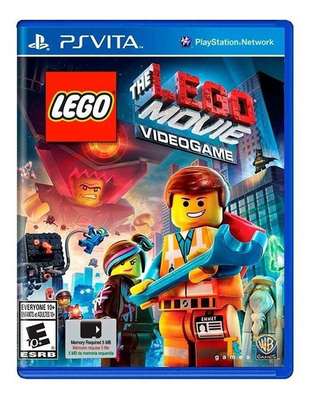 The Lego Movie Videogame Ps Vita Mídia Física Novo Lacrado