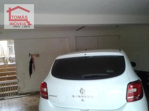Imagem 1 de 12 de Casa Térrea Assobradada - Ca0636