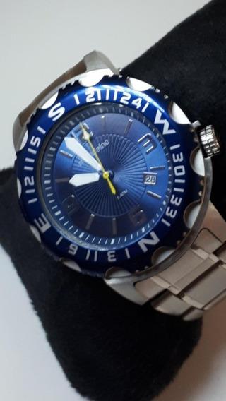 Lindo Relógio Mondaine Style Moda Azul