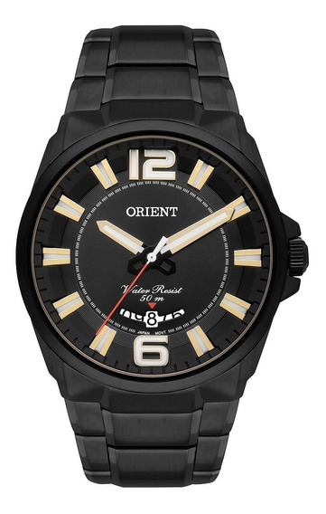 Relógio Orient Masculino Mpss1006 P2px Preto Aço Lancamento